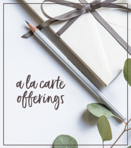 Shift-Click Creative offers a la carte services.