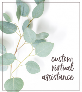 Shift-Click Creative offers custom virtual assistance.