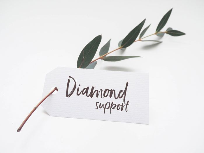 Diamond Support